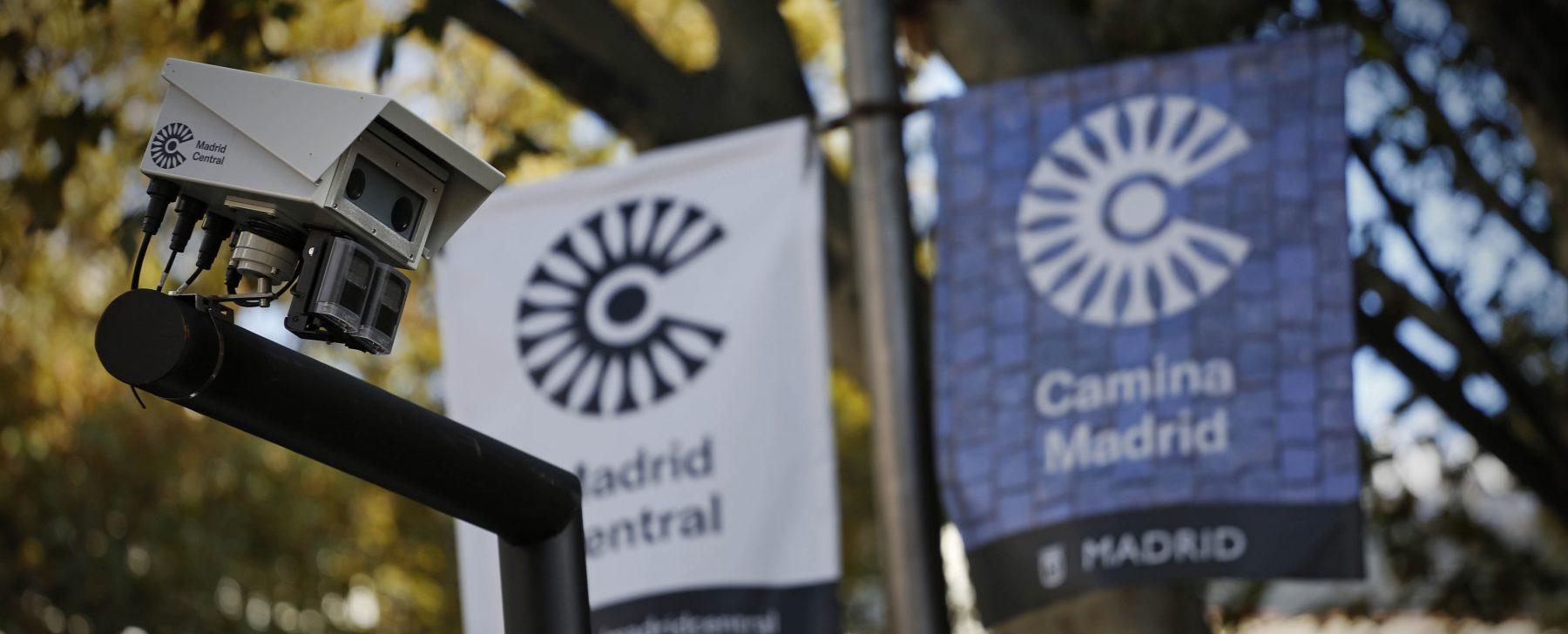 Las cámaras que más multan en Madrid Central (pero no por la tarde)